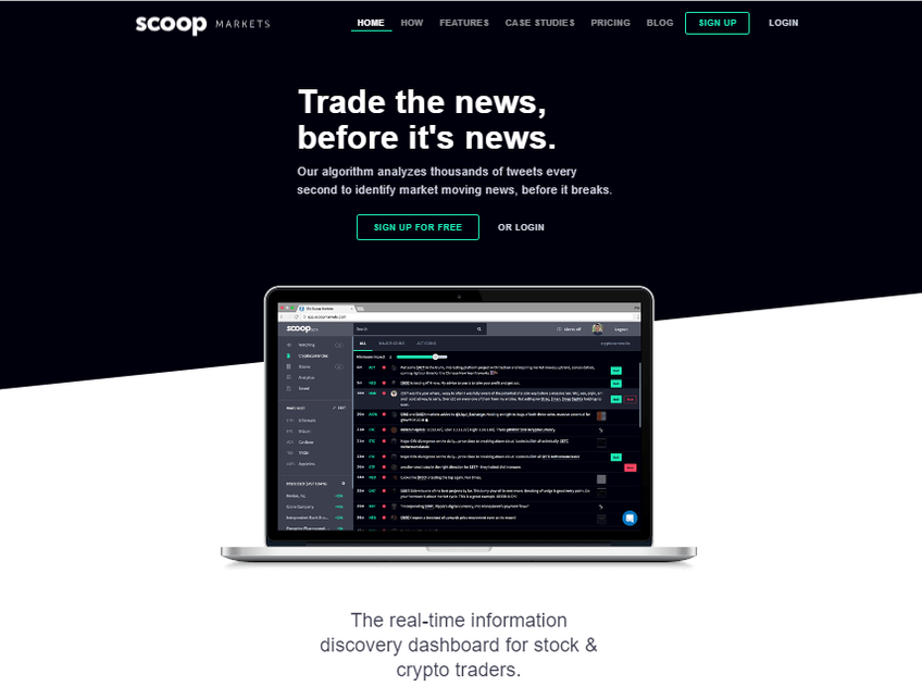 Scoop Markets screenshot