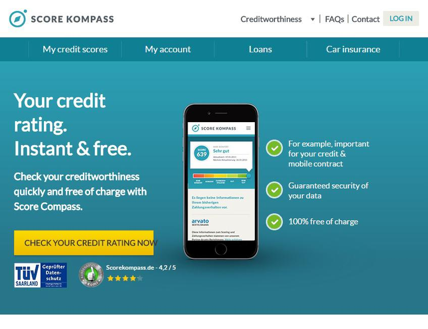 Score Kompass screenshot