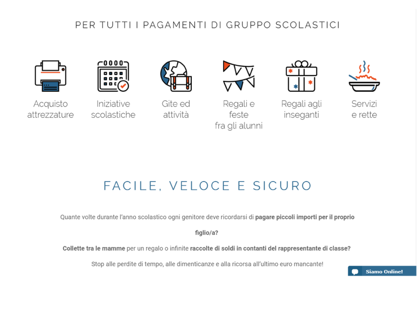 ScuolaPay screenshot