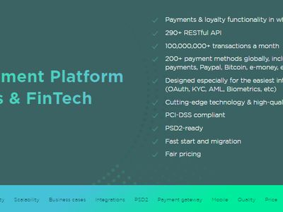 SDK.finance - Core Payment platform image