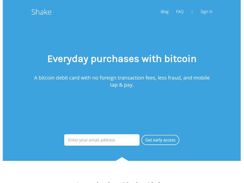 ShakePay screenshot