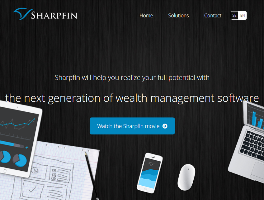 Sharpfin screenshot