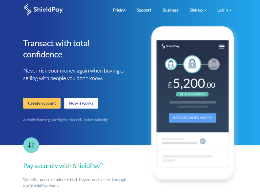 ShieldPay screenshot