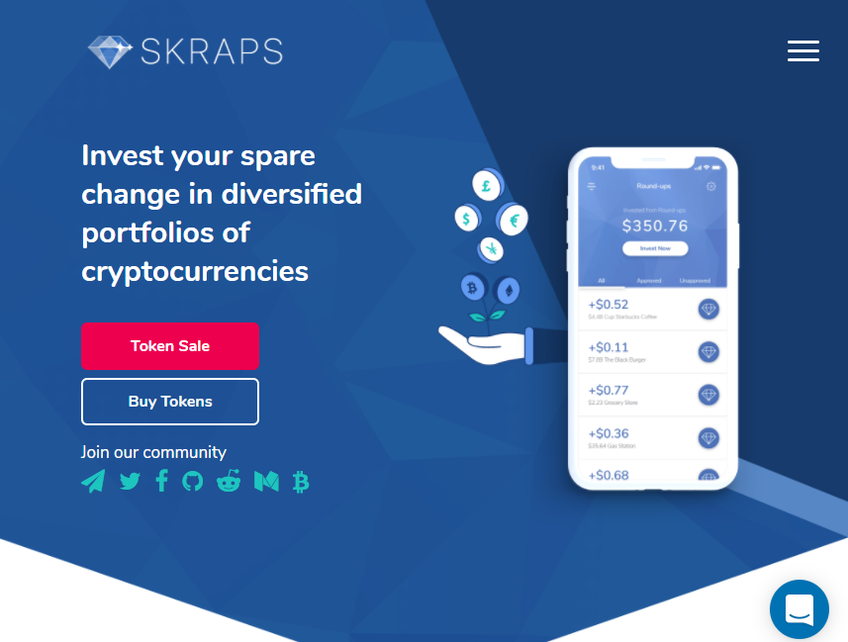 Skraps screenshot