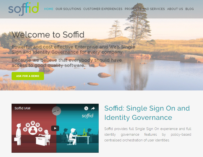 Soffid screenshot