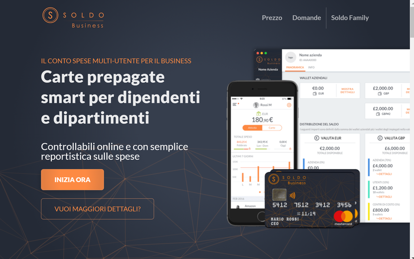 Soldo Business screenshot