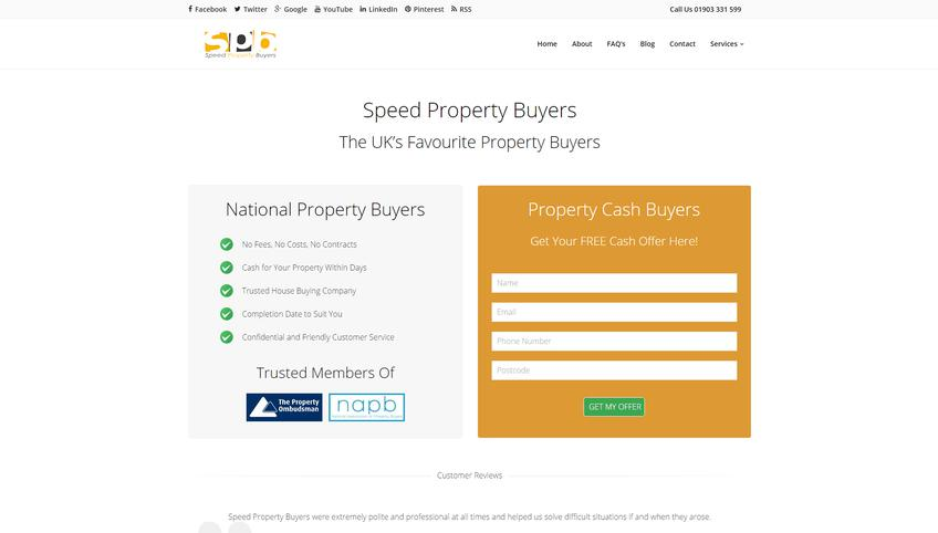 Speed Property Buyers screenshot