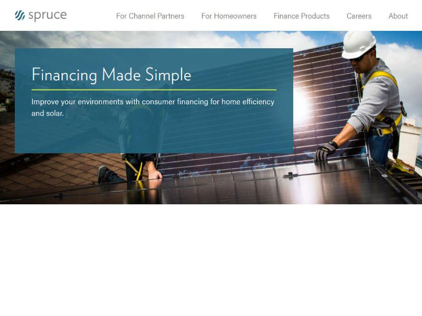 Spruce Finance screenshot