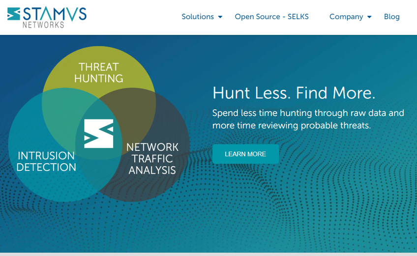 Stamus Networks screenshot