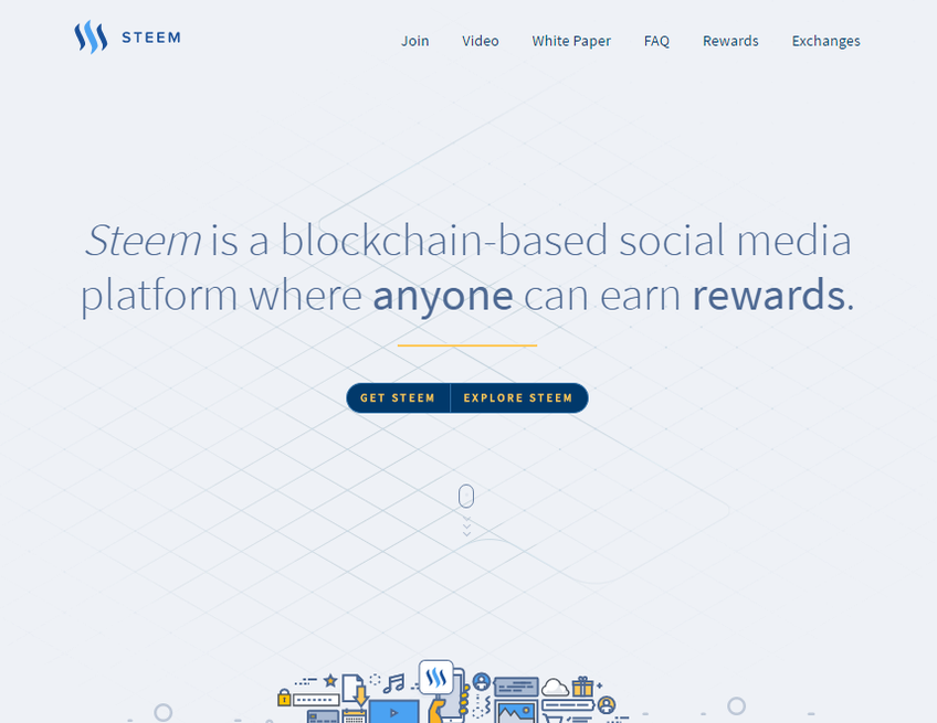 Steem screenshot