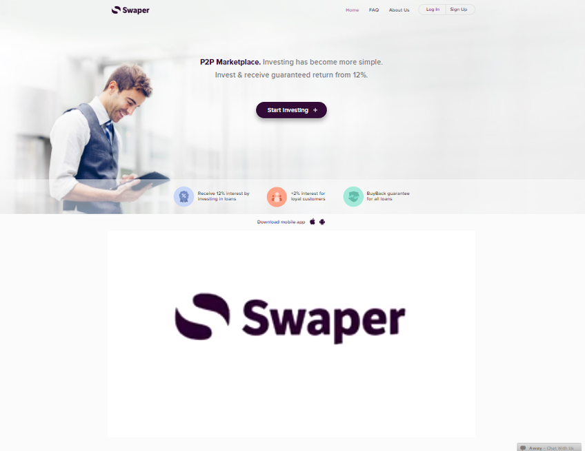 Swaper screenshot