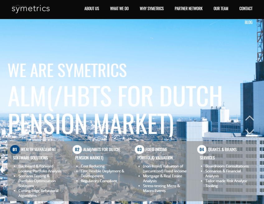 Symetrics screenshot