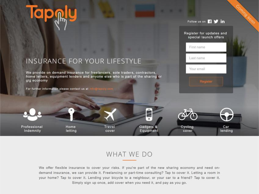 Tapoly screenshot