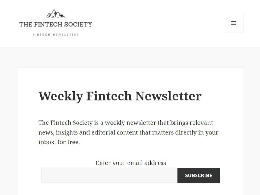 The Fintech Society screenshot
