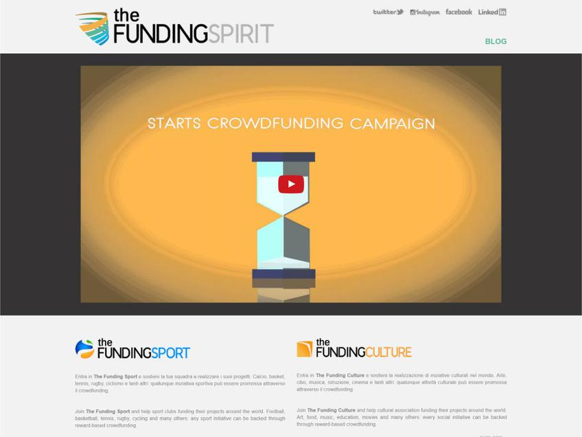 The Funding Spirit screenshot