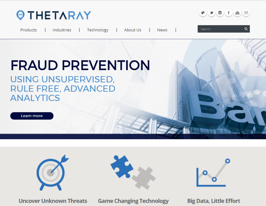 ThetaRay screenshot