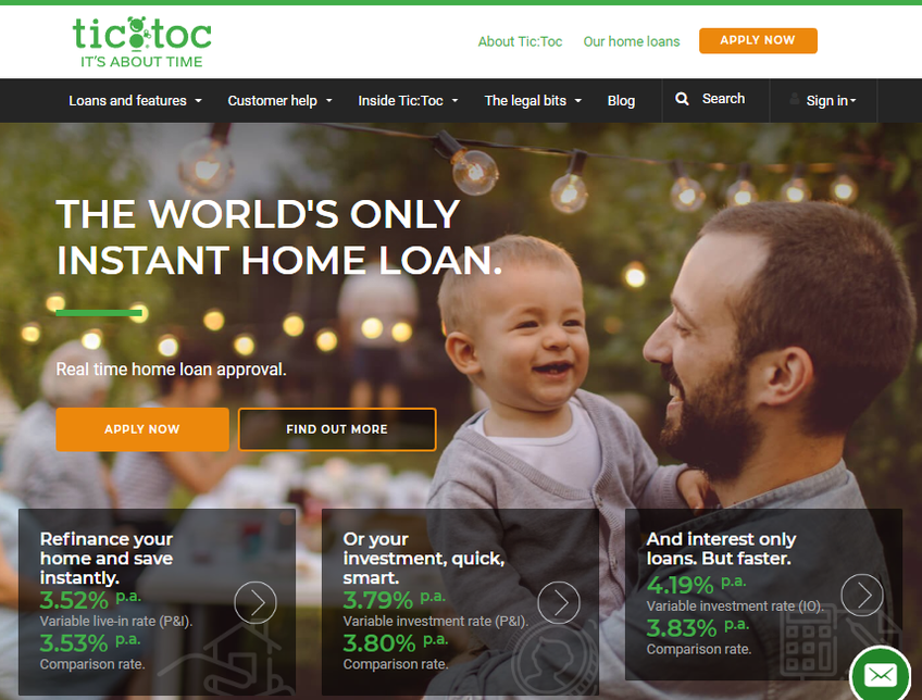 TicToc Home Loans screenshot