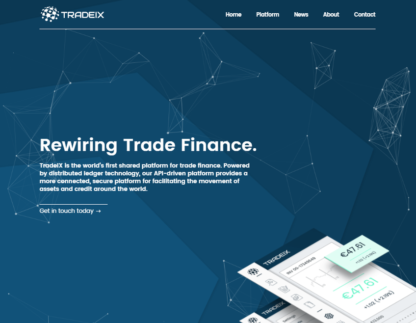 TradeIX screenshot