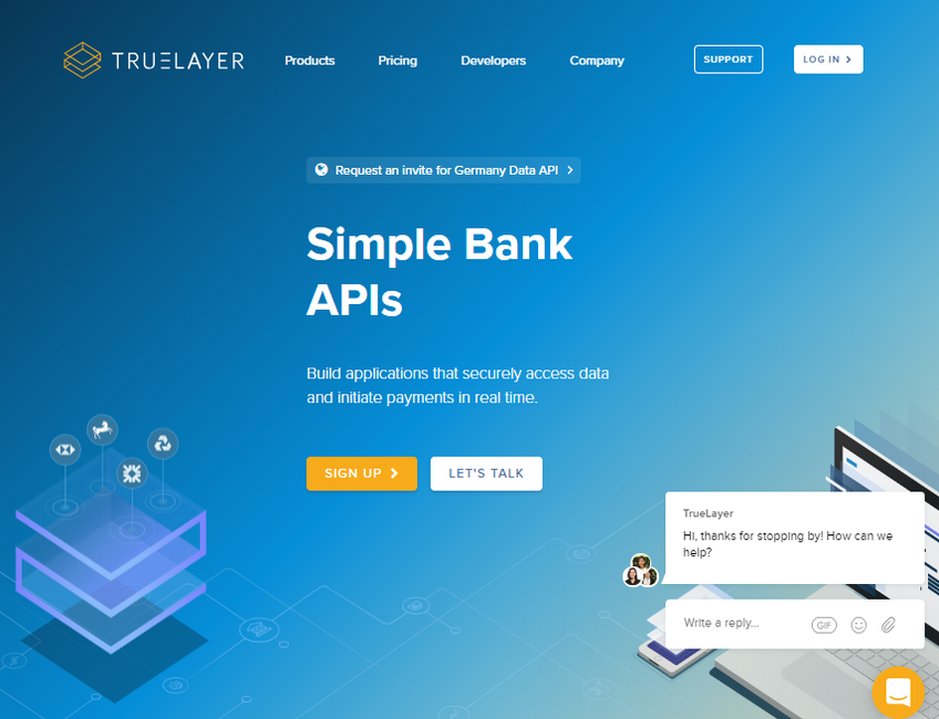 TrueLayer screenshot