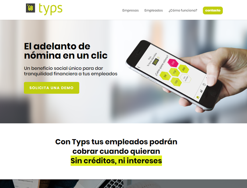 Typs screenshot