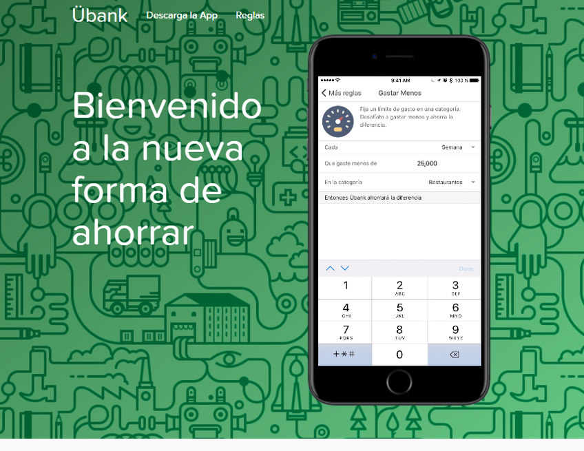 Ubank screenshot