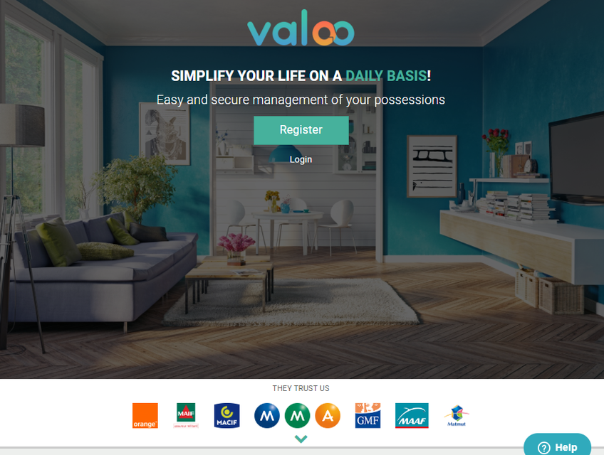 Valoo screenshot