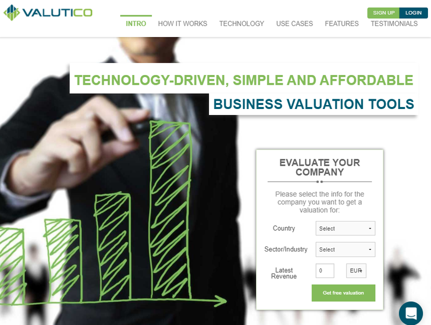 Valutico screenshot