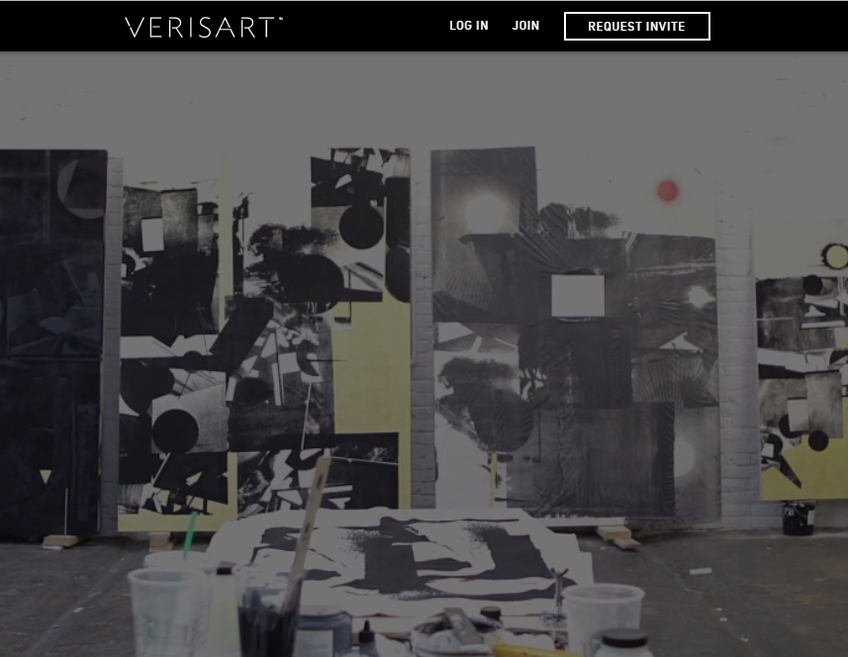 Verisart screenshot