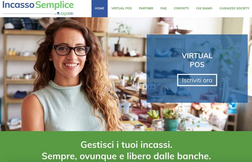Virtual POS di Incasso Semplice screenshot