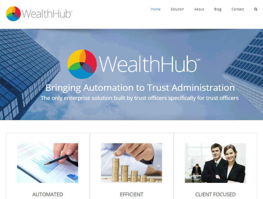 WealthHub Solutions screenshot