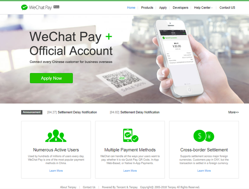 WeChat Pay screenshot