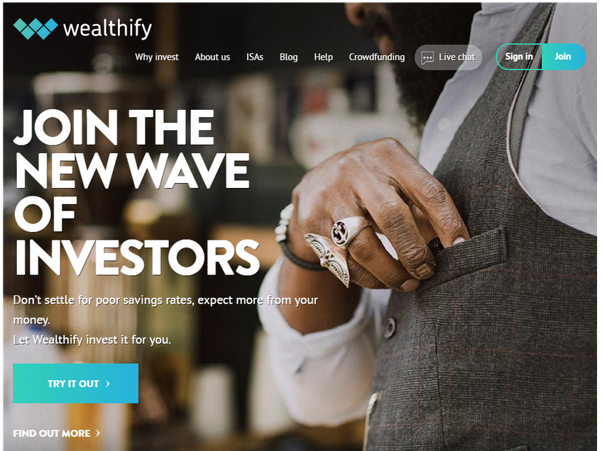 Wealthify screenshot