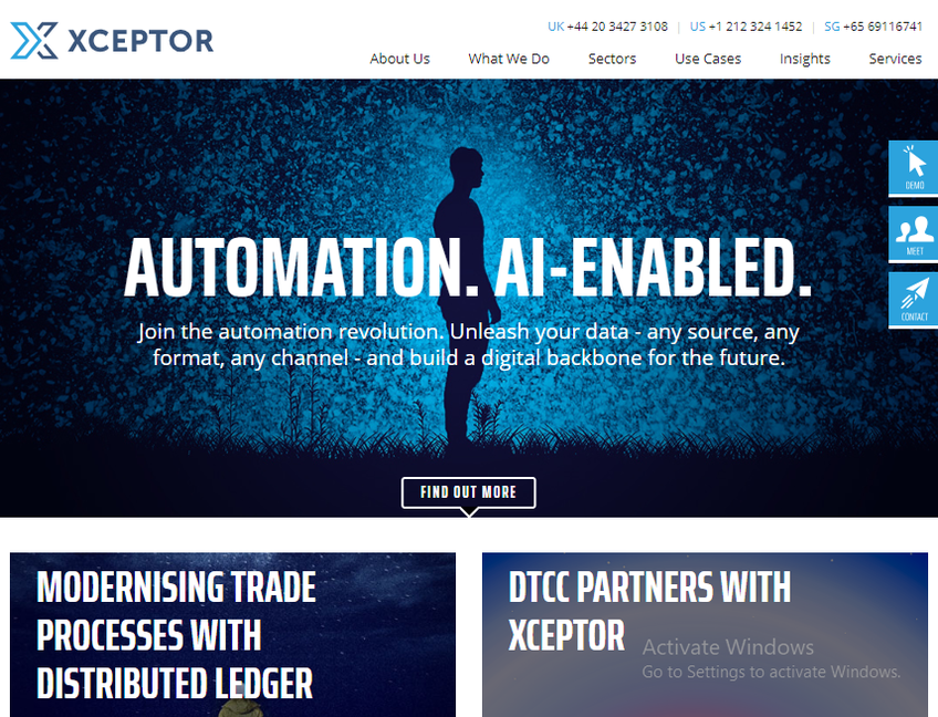Xceptor screenshot
