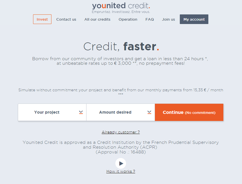 Younited Credit screenshot