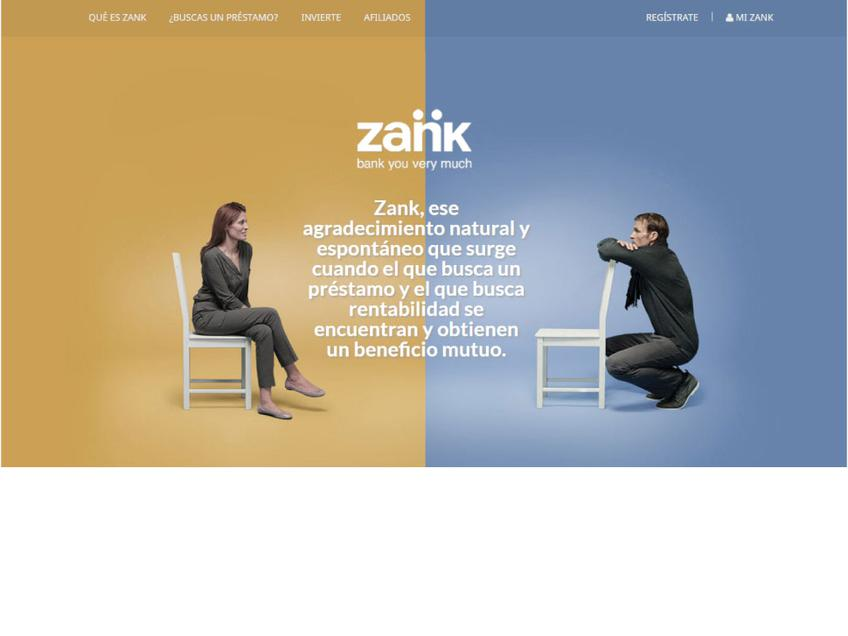 Zank screenshot