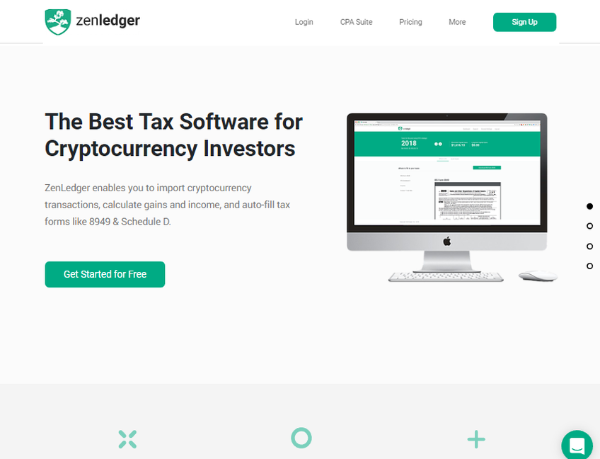 ZenLedger screenshot