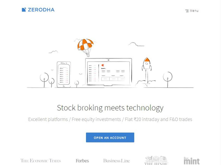 Zerodha screenshot