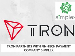 Tron Partners with Fintech Firm Simplex - Business Partnerships - Altcoin Buzz image