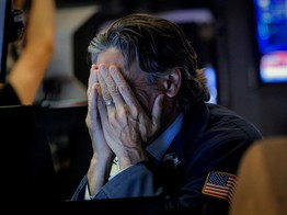 Dow Plunges 400 Points as Haven Demand Fuels Gold & Treasuries image