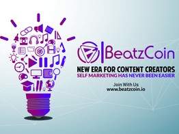 Hitting the Digital Content with BeatzCoin image