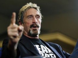 Bitcoin Will Hit $1 Million in 2020 Because Maths, Stupid: John McAfee image