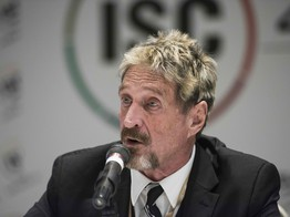 Bitcoin Price Will Reach $1 Million in 2020, Or You're an Idiot: John McAfee image