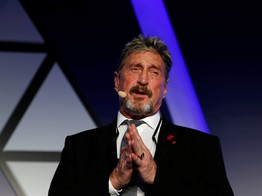 John McAfee Blows His Own Horn Over Bitcoin Price Predictions image