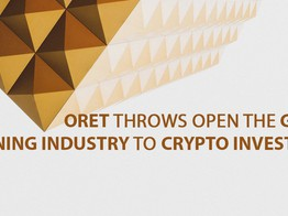 ORET Throws Open the Gold. Mining Industry to Crypto Investors image