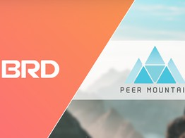 Peer Mountain and BRD Partnership Offers Direct Access to 1.4 million BRD Wallet Users image