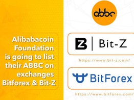 Alibabacoin Foundation Is Going to List Their ABBC on Exchange Bitforex and Bit-Z image