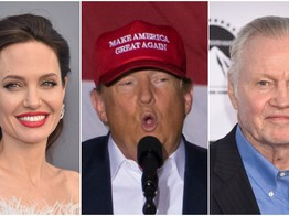 Angelina Jolie's Dad is a MAGA Maniac & Cringy Trump Tweets Prove It image