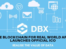DBX - The Blockchain for Real World Apps Launches Official ICO image