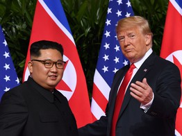 Dow Futures, Bitcoin Struggle as Trump-Kim Summit Gets Off to Shaky Start image