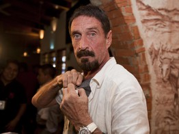 John McAfee Living in a Constant State of Paranoia Launches Podcast image